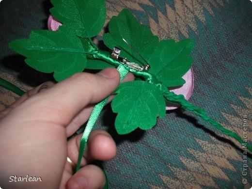 брошка-роза фото 6