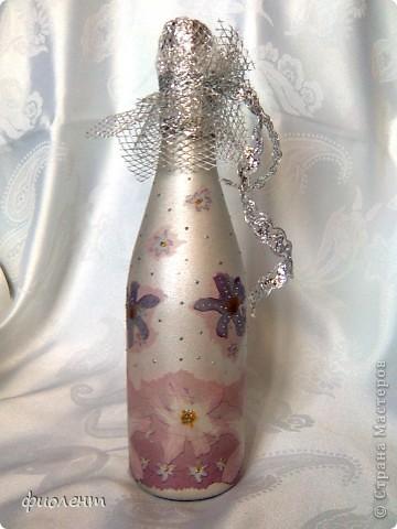 Свадебные бутылочки. фото 3