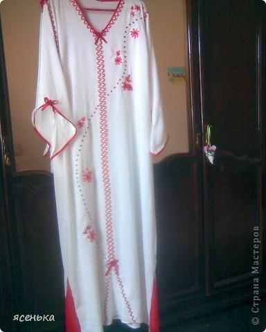 Платье - один из вариантов домашней одежды женщин Алжира... фото 2