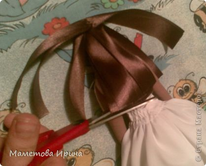 Мастер класс прическа для куклы фото 10