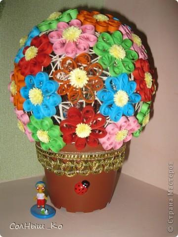 Мой цветочный шарик. фото 1