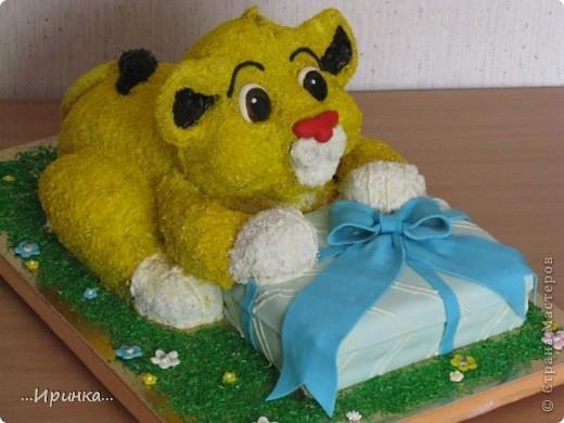 "торт ""Симба"" фото 1"