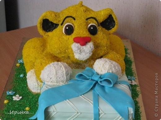 "торт ""Симба"" фото 2"