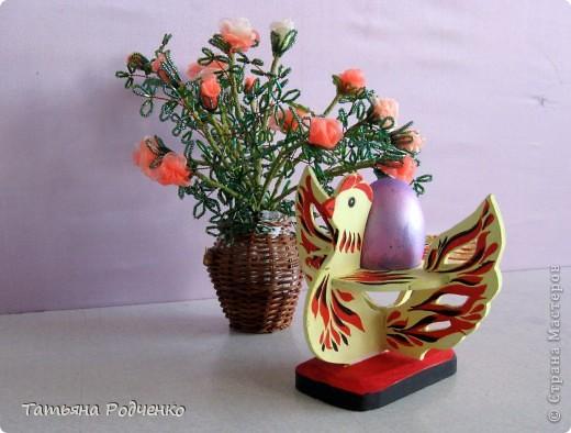 К светлому празднику Пасхи мы приготовили вот такие сувениры. Выполнены они из фанеры, расписаны гуашью. фото 11