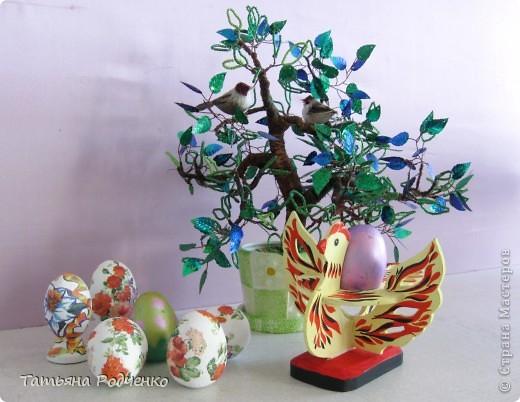 К светлому празднику Пасхи мы приготовили вот такие сувениры. Выполнены они из фанеры, расписаны гуашью. фото 13