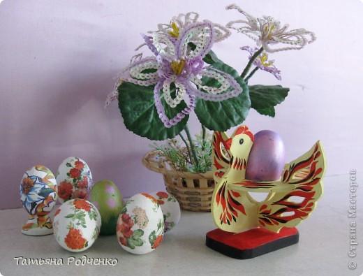 К светлому празднику Пасхи мы приготовили вот такие сувениры. Выполнены они из фанеры, расписаны гуашью. фото 14