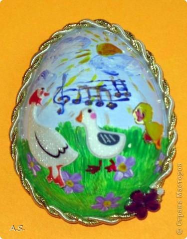 Такие яички-магниты мы с дочкой сделали на Пасху в подарок родственникам, друзьям, преподавателям фото 7