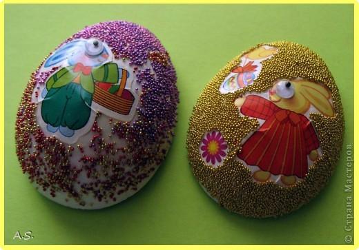 Такие яички-магниты мы с дочкой сделали на Пасху в подарок родственникам, друзьям, преподавателям фото 10