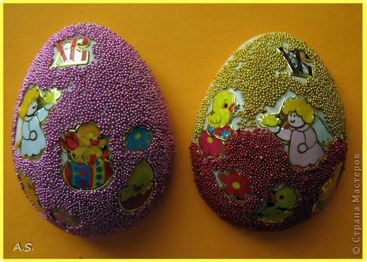 Такие яички-магниты мы с дочкой сделали на Пасху в подарок родственникам, друзьям, преподавателям фото 15