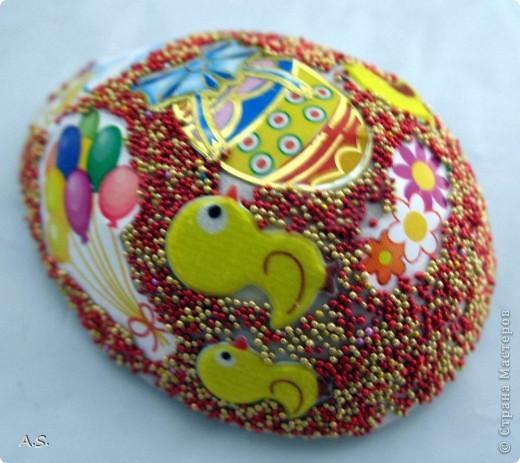 Такие яички-магниты мы с дочкой сделали на Пасху в подарок родственникам, друзьям, преподавателям фото 19