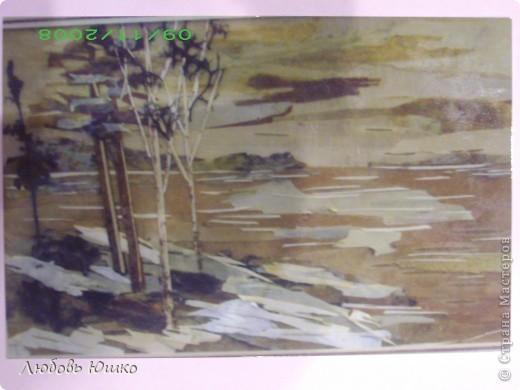 Картина панно рисунок Рисование и живопись картины из природных материалов Листья фото 14
