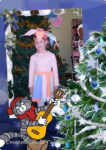 Вот  такое  платье  я  сшила  своей  дочери  на  выпускной  в  детский  сад фото 3