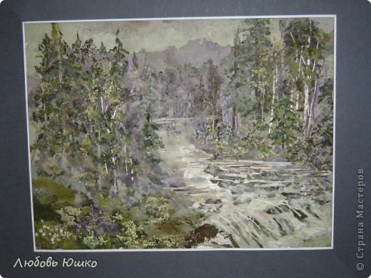 Картина панно рисунок Рисование и живопись картины из природных материалов Листья фото 10