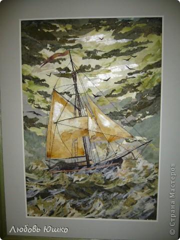 Картина панно рисунок Рисование и живопись картины из природных материалов Листья фото 11