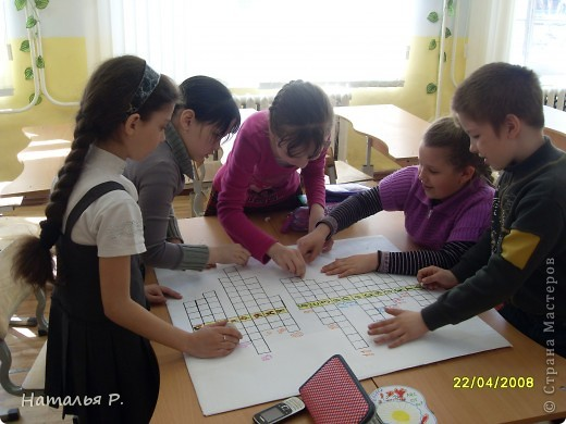 Коллективная работа третьеклассников на районный конкурс кроссвордов по пожарной безопасности. фото 7