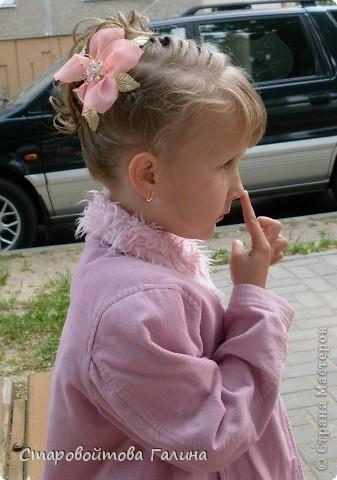 Вот  такое  платье  я  сшила  своей  дочери  на  выпускной  в  детский  сад фото 2