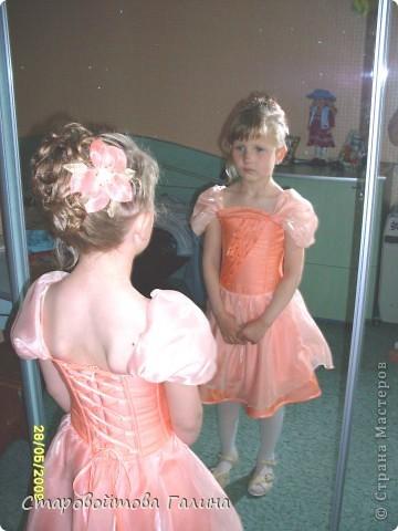 Вот  такое  платье  я  сшила  своей  дочери  на  выпускной  в  детский  сад фото 1