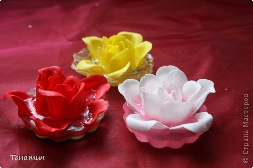 Мыльные розы залиты основой.(Мыльные розы покупала) фото 2