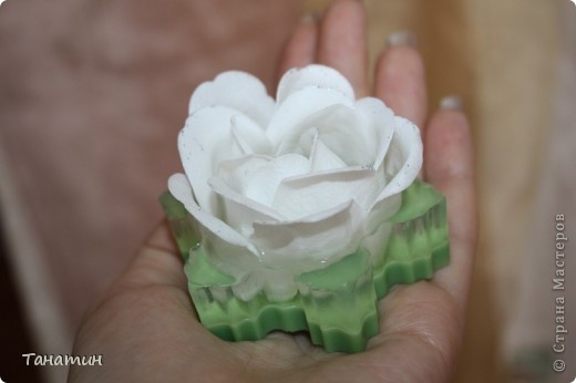 Мыльные розы залиты основой.(Мыльные розы покупала) фото 3