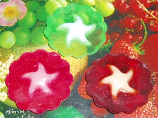 Ароматные звездочки: яблоко, земляника, кола... фото 1