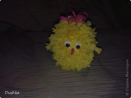 Этого цыплёнка получил мой племяшка на Пасху:) фото 1
