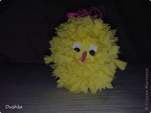 Этого цыплёнка получил мой племяшка на Пасху:) фото 2