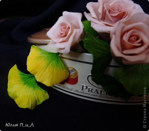 Когда искала фото с омелой – обнаружила в инете чудесные листья гинкго. Далее в процессе поисков увидела, что в инет магазинах продают молды листьев гингко…Ну, что нам стоит дом построить?))))  фото 5