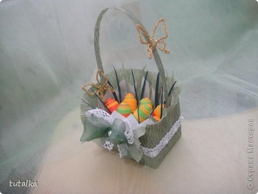 Пасхальная корзиночка) фото 1