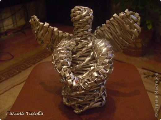 «Ангел из газетных трубочек» Мастер-класс. фото 19
