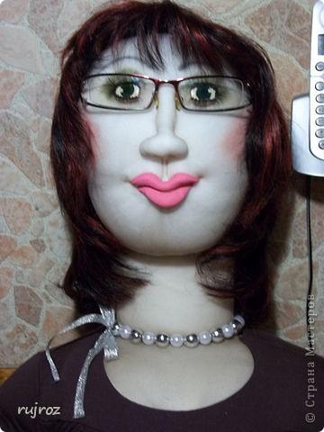 Вот такую куклу для дачи ,я сшила в подарок на День рождения папе . фото 1
