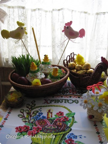 Общий вид моего празничного стола фото 5