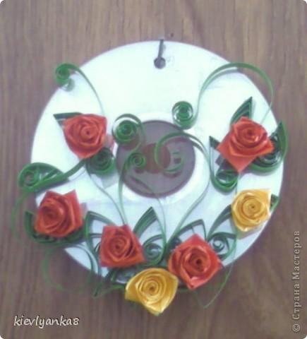 Цветы на дисках фото 2