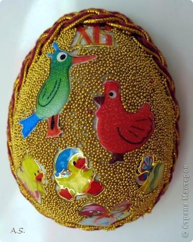 Такие яички-магниты мы с дочкой сделали на Пасху в подарок родственникам, друзьям, преподавателям фото 22