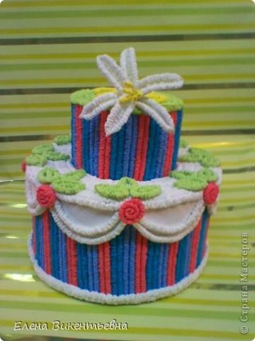 Вот такой вот торт у меня получился для любимой подруги! Спасибо Татьяне Просняковой за МК: http://stranamasterov.ru/node/31491?c=favorite Как видно, подруге исполнилось 23 года... фото 2