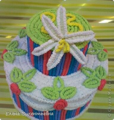 Вот такой вот торт у меня получился для любимой подруги! Спасибо Татьяне Просняковой за МК: http://stranamasterov.ru/node/31491?c=favorite Как видно, подруге исполнилось 23 года... фото 1