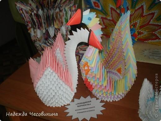 Выставка наших работ в школе. фото 4