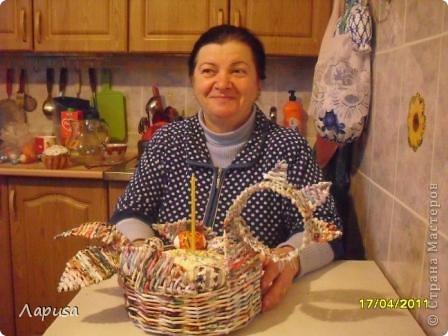 Мой Пасхальный петушок, сплетен в подарок друзьям. фото 3