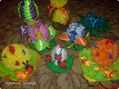 Была Пасха-Великий праздник!Хотелось наделать всем подарочков-сувенирчиков. Все получилось очень красиво,а главное просто, даже детки могут сделать некоторые сувенирчики. фото 1