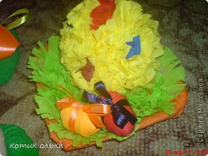 Была Пасха-Великий праздник!Хотелось наделать всем подарочков-сувенирчиков. Все получилось очень красиво,а главное просто, даже детки могут сделать некоторые сувенирчики. фото 3