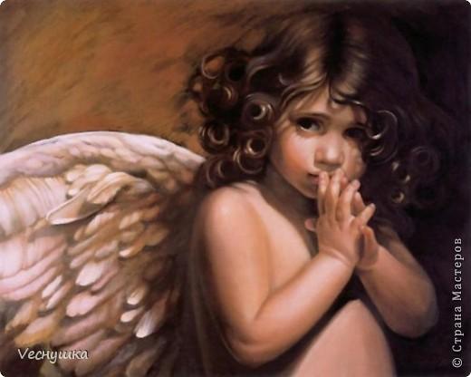 Всем зашедшим в гости - привет! Представляю вашему вниманию своих ангелочков. Их сделала в подарок для маленьких деток своих родственников и друзей.  Этого замечательного ангела увидела в блоге Ларисы Ивановой и, как говорится, не смогла пройти мимо! фото 1