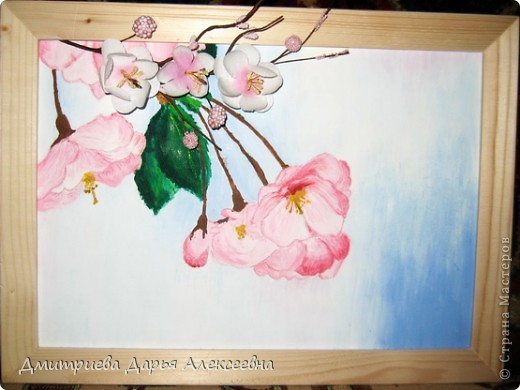 Цветущая саккура