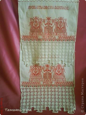 Вышитое полотенце - рушник