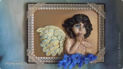 Всем зашедшим в гости - привет! Представляю вашему вниманию своих ангелочков. Их сделала в подарок для маленьких деток своих родственников и друзей.  Этого замечательного ангела увидела в блоге Ларисы Ивановой и, как говорится, не смогла пройти мимо! фото 2