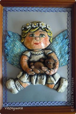 Всем зашедшим в гости - привет! Представляю вашему вниманию своих ангелочков. Их сделала в подарок для маленьких деток своих родственников и друзей.  Этого замечательного ангела увидела в блоге Ларисы Ивановой и, как говорится, не смогла пройти мимо! фото 3