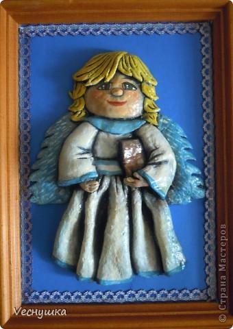 Всем зашедшим в гости - привет! Представляю вашему вниманию своих ангелочков. Их сделала в подарок для маленьких деток своих родственников и друзей.  Этого замечательного ангела увидела в блоге Ларисы Ивановой и, как говорится, не смогла пройти мимо! фото 6
