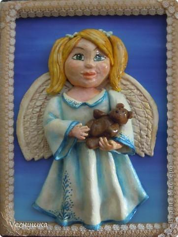 Всем зашедшим в гости - привет! Представляю вашему вниманию своих ангелочков. Их сделала в подарок для маленьких деток своих родственников и друзей.  Этого замечательного ангела увидела в блоге Ларисы Ивановой и, как говорится, не смогла пройти мимо! фото 7