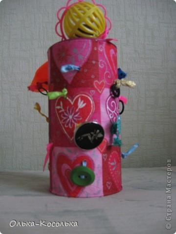 Вот такая развивающая баночка для пальчиков получилось благодаря материалу Валентины http://stranamasterov.ru/node/166094?tid=451%2C903. За что ей огромное спасибо! фото 2