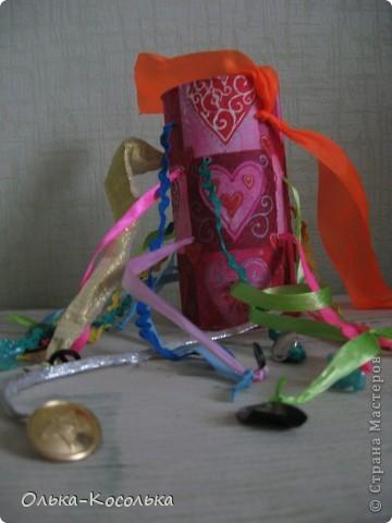Вот такая развивающая баночка для пальчиков получилось благодаря материалу Валентины http://stranamasterov.ru/node/166094?tid=451%2C903. За что ей огромное спасибо! фото 3