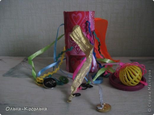 Вот такая развивающая баночка для пальчиков получилось благодаря материалу Валентины http://stranamasterov.ru/node/166094?tid=451%2C903. За что ей огромное спасибо! фото 4