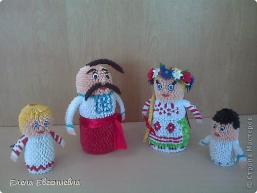 Куклы Оригами китайское